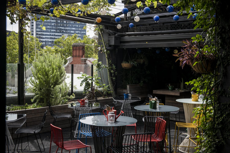 Lvl 3 East Bank - Loop Roof & Loop Top Rooftop Cocktail Bar & Garden Oasis Melbourne