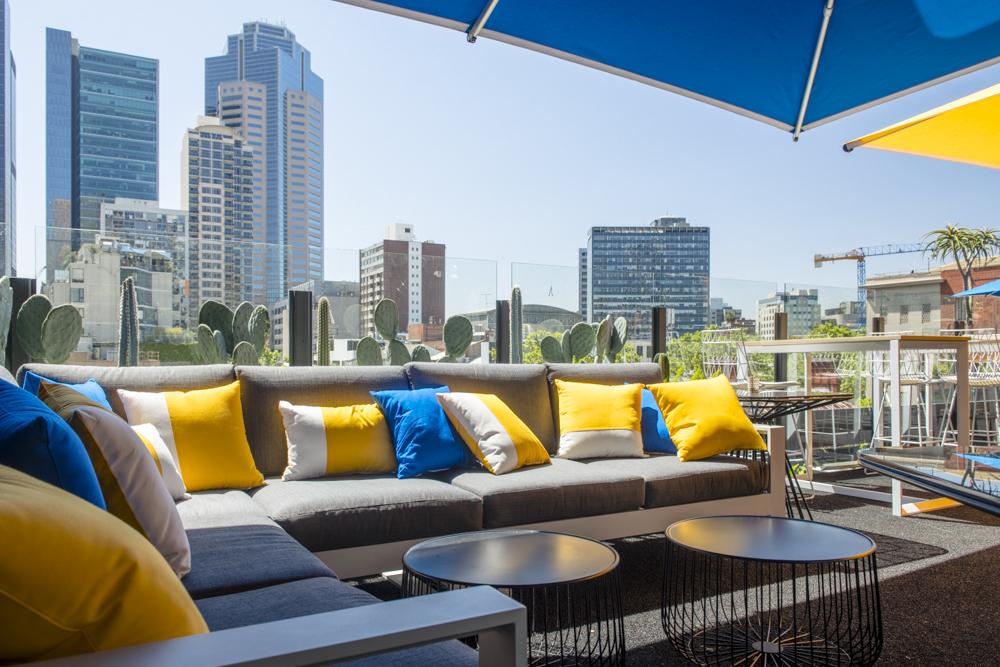 Loop Top Twin-Tier Rooftop bar and garden Melbourne